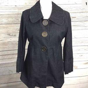 INC International Concepts Blazer Chambre Jacket